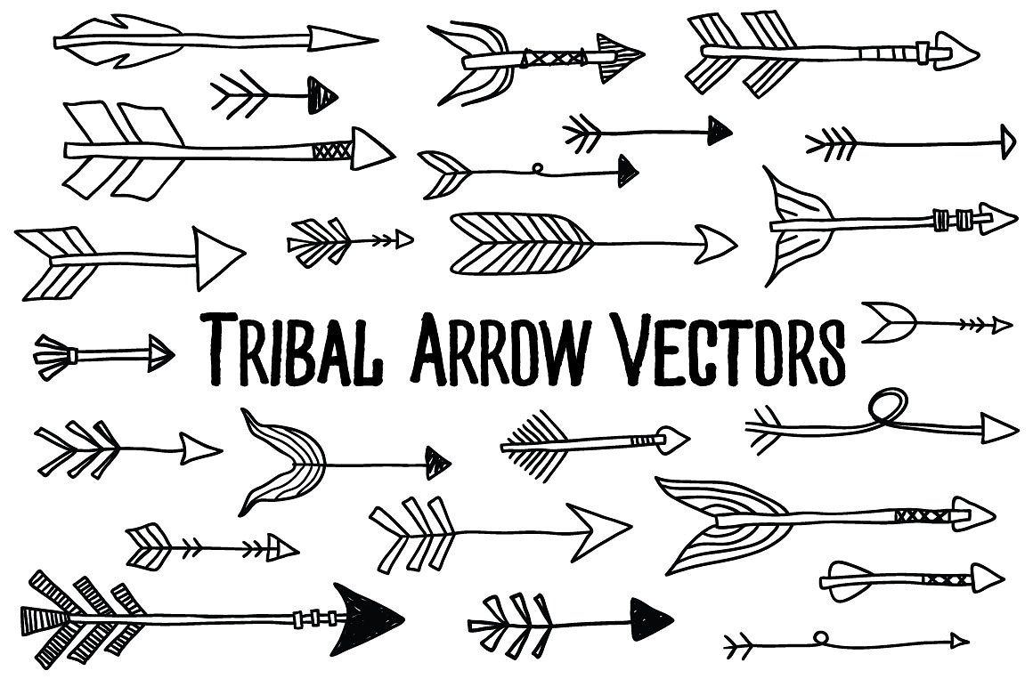 svg transparent download Tribal arrow clipart vector. Pin by colorfulsun on.