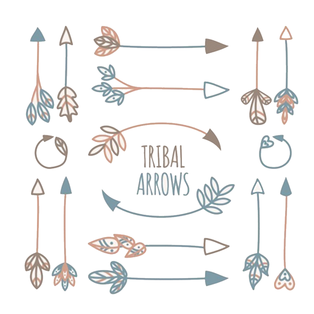 picture black and white Tribal arrow clipart vector. Tribe euclidean icon element.