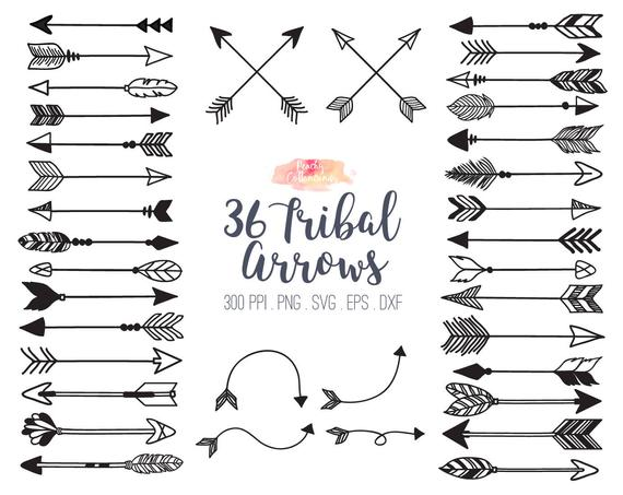 image freeuse library Buy get free svg. Tribal arrow clipart vector.