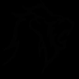 jpg download Roaring Lion Tribal SVG Picture