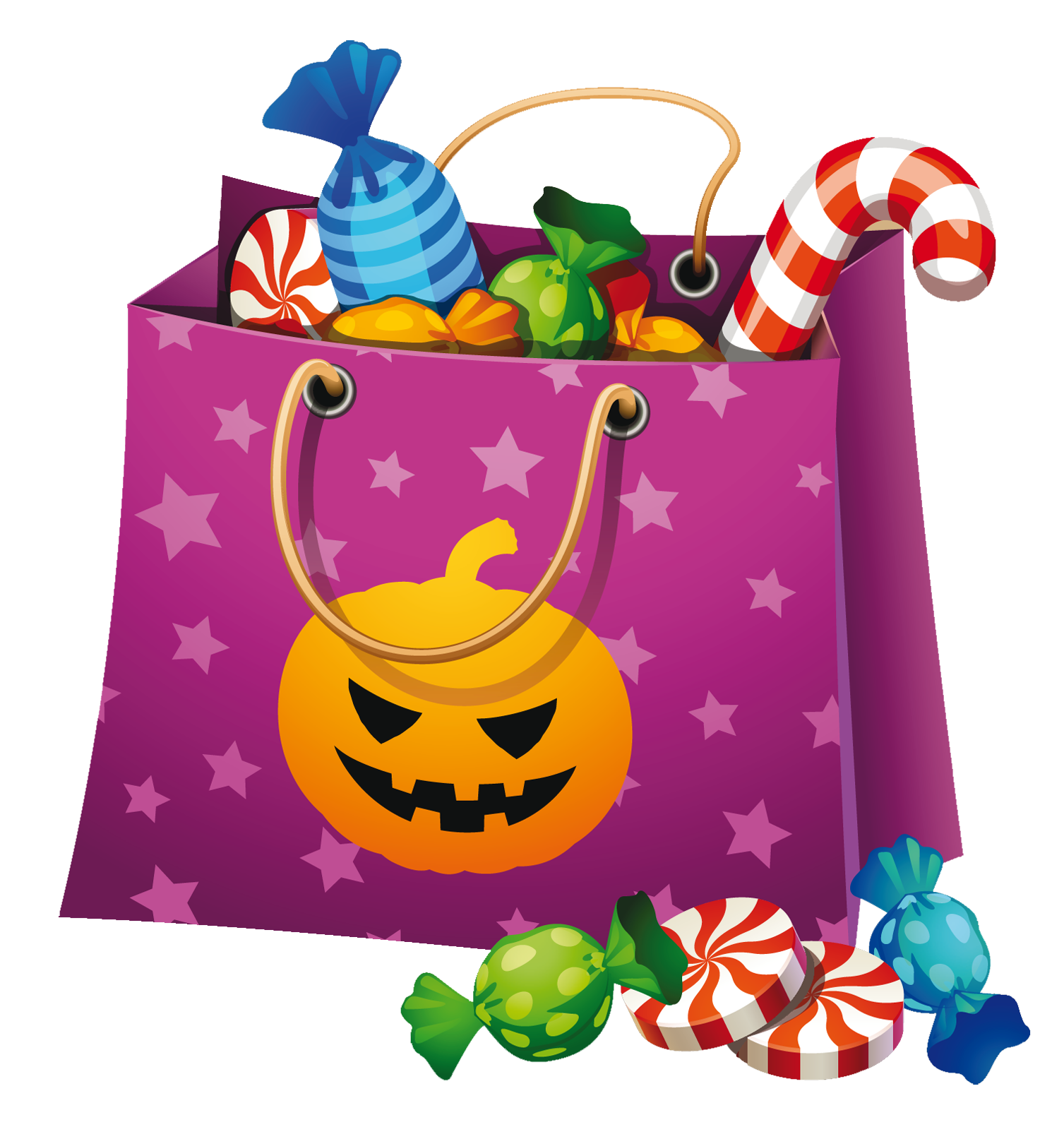 vector free library Vector candy halloween. Png bag clipart clip
