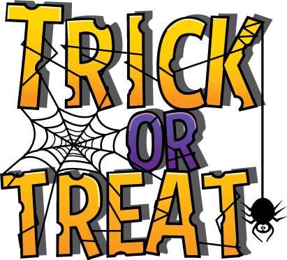 clip art transparent library Clip art trunk wikiclipart. Trick or treat clipart