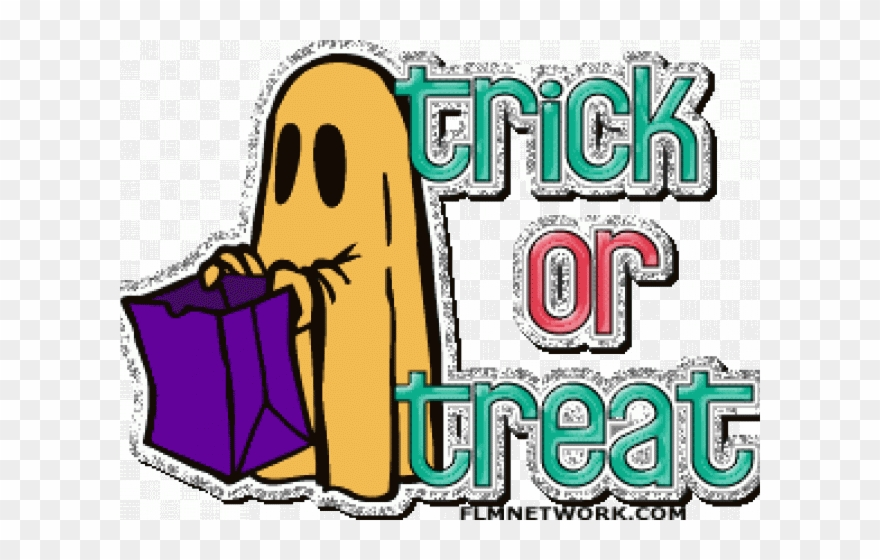 clipart freeuse stock Png download . Trick or treat clipart downtown