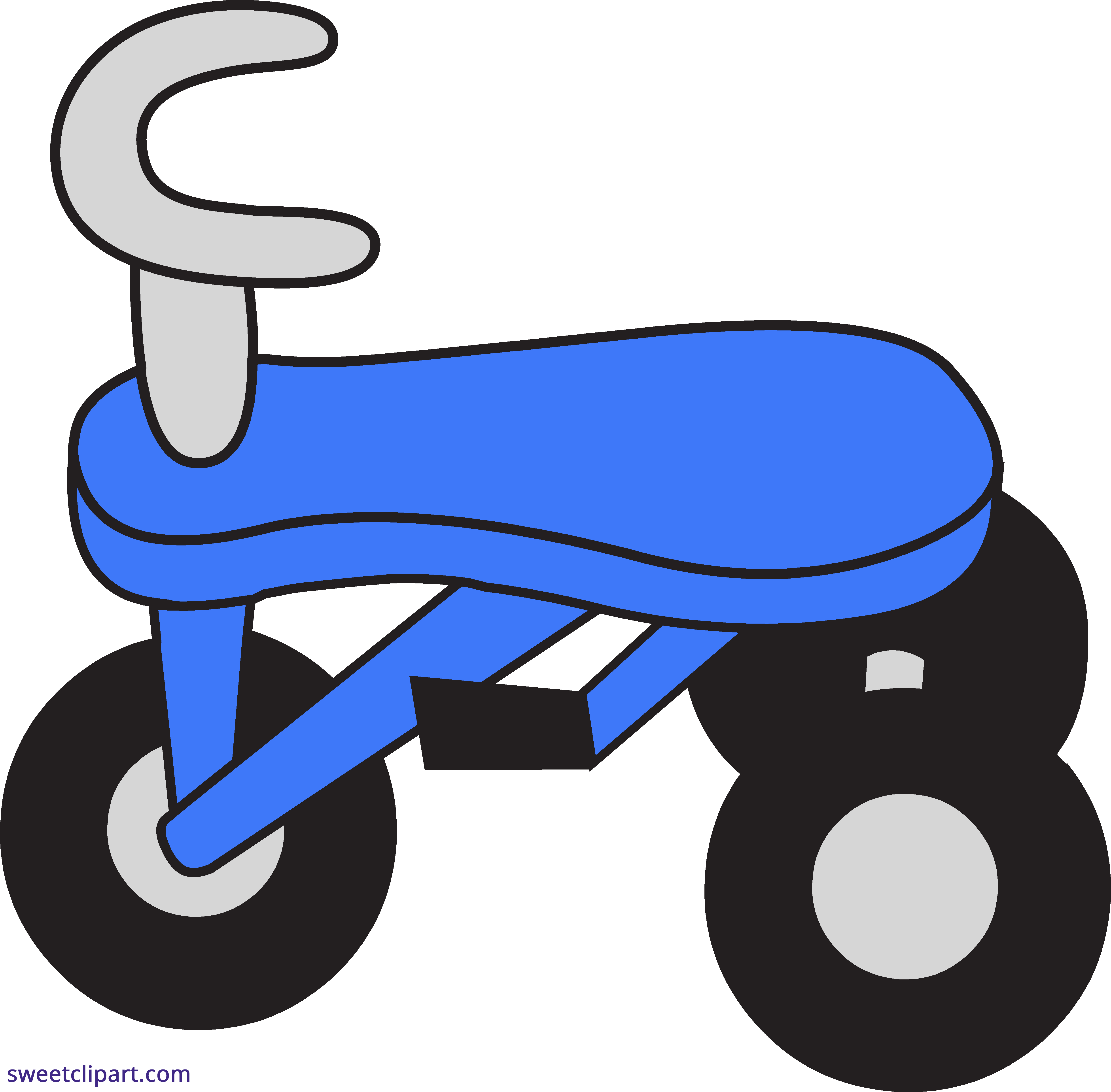 svg transparent download Blue sweet clip art. Tricycle clipart