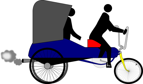 svg free download Tricycle clipart trishaw. Word of the day