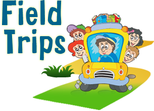 vector library stock Chic And Creative Field Trip Clipart Manage The