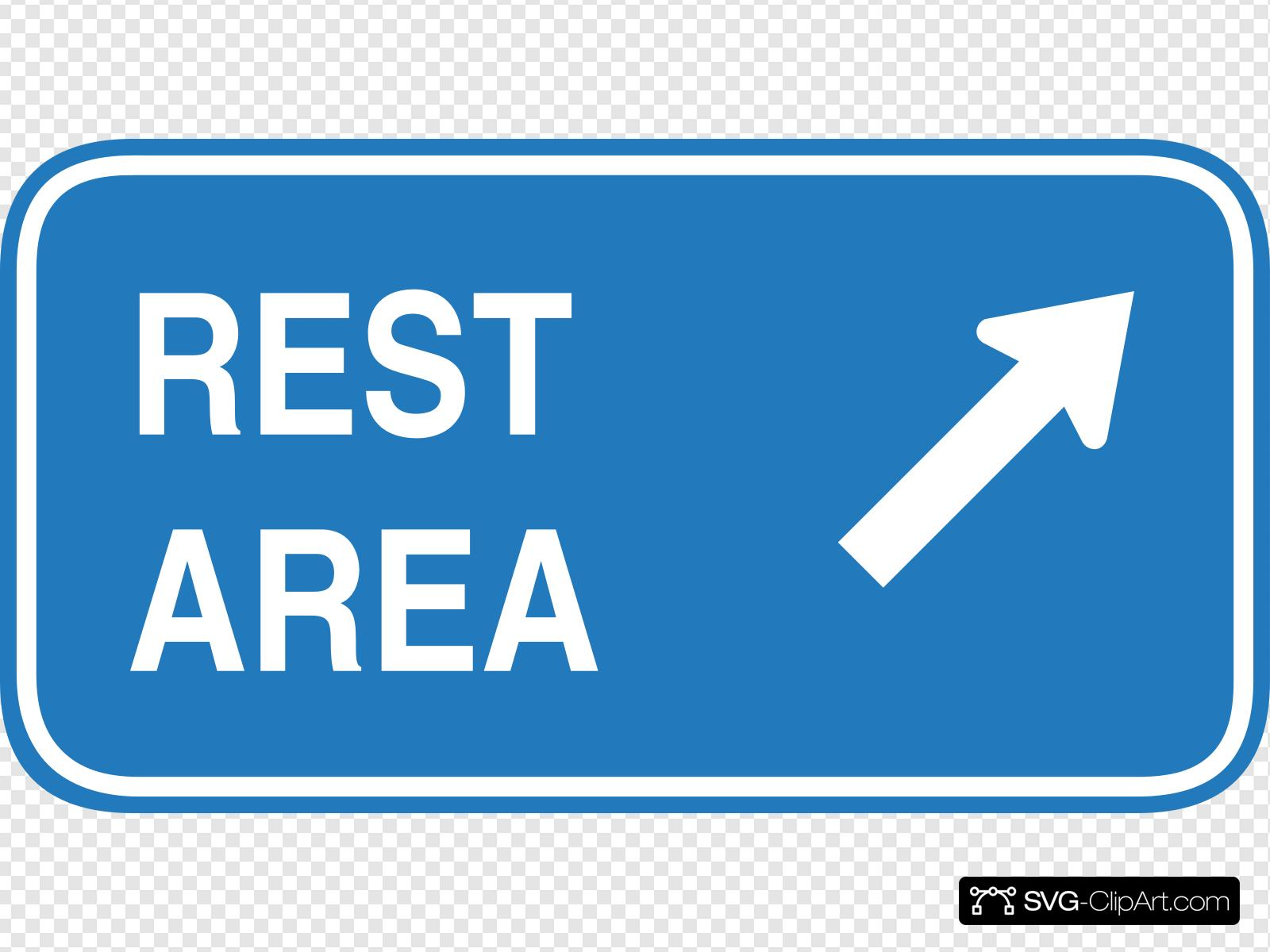png royalty free stock Trip clipart rest stop. Area highway sign clip