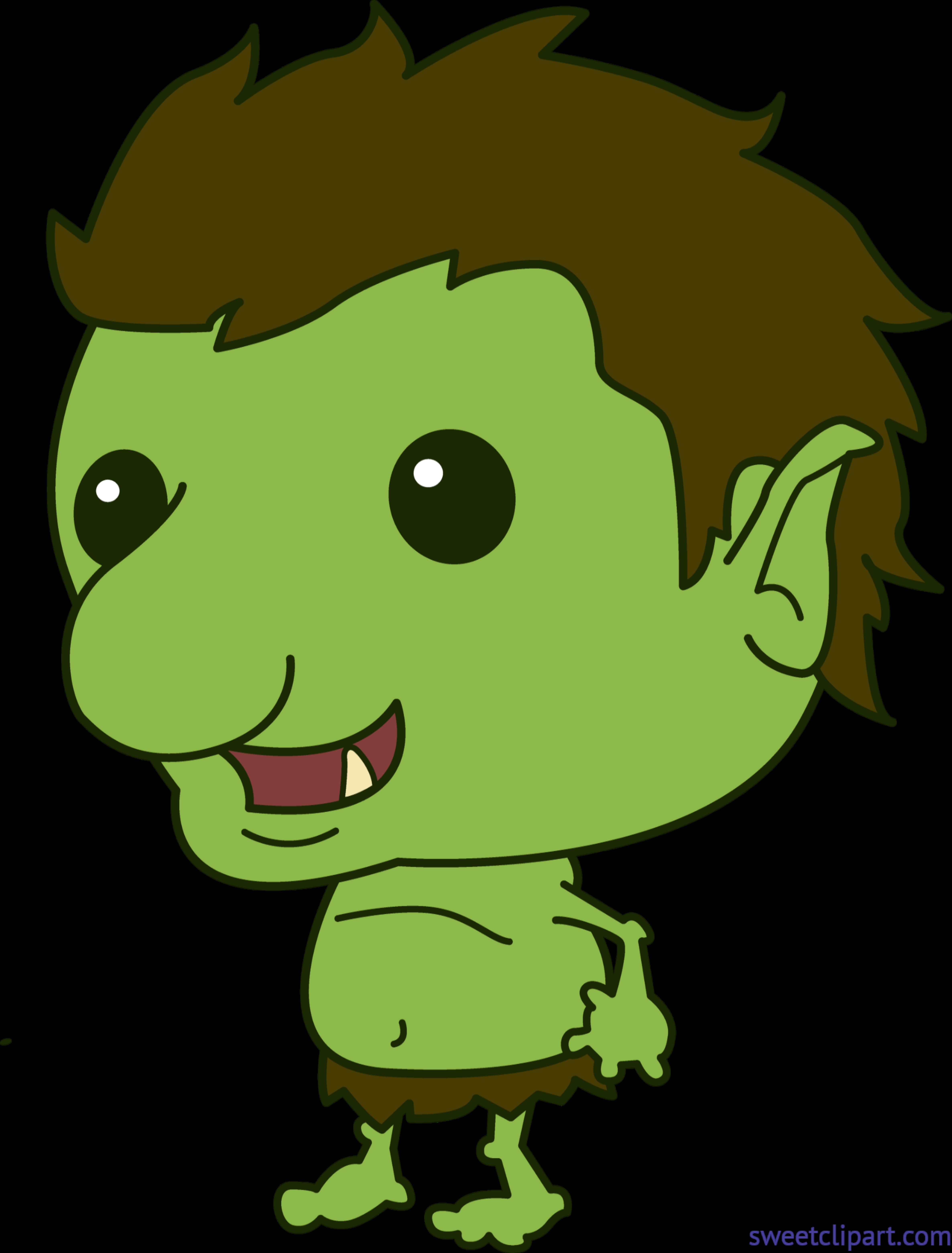download Cute clip art sweet. Troll clipart