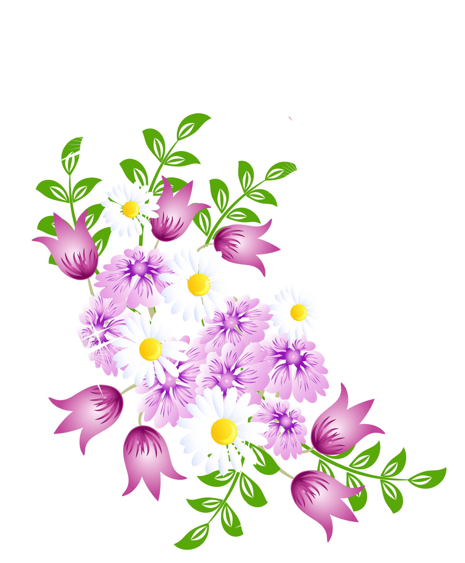 clipart download Flowers decor png picture. Wheelbarrow clipart spring flower
