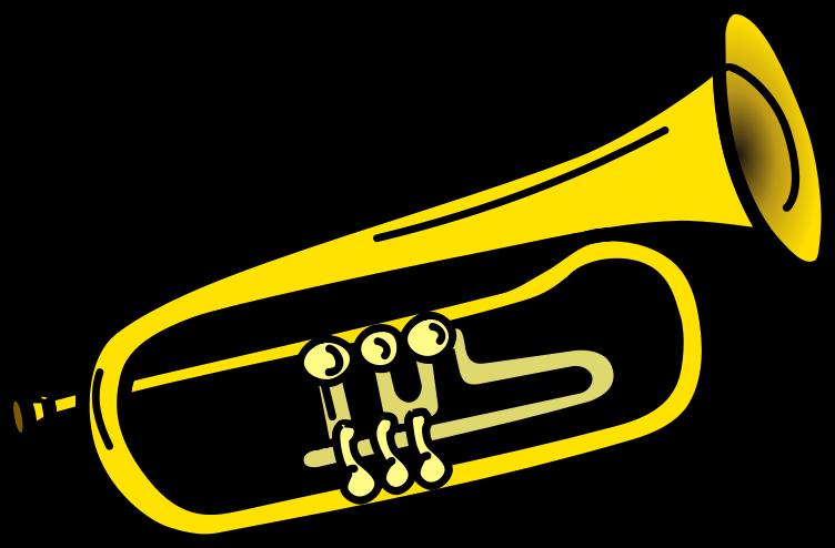 clip art stock Trombone Clipart brass