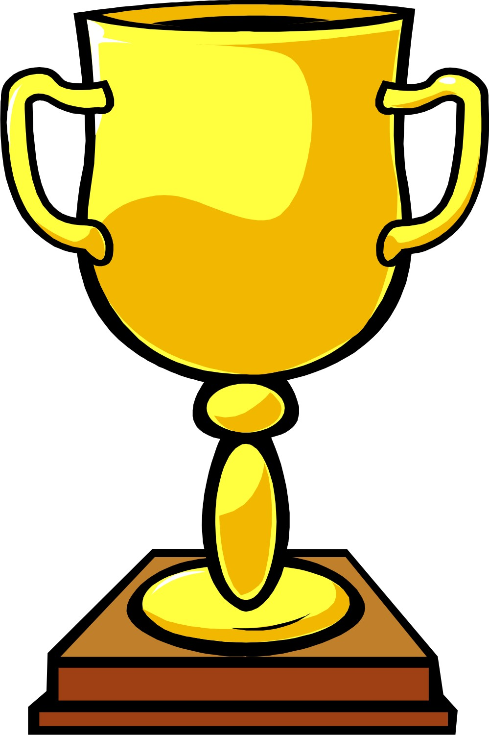 graphic freeuse library Trophy clipart. Free download clip art.
