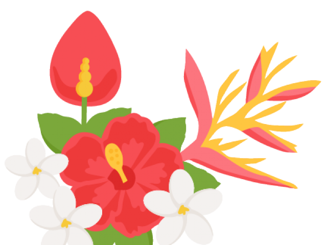image library stock Flowers cliparts free download. Tropical clipart