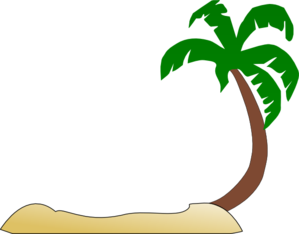 clipart freeuse library Tropical Beach Clipart