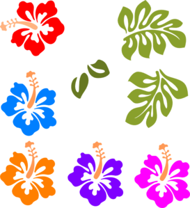 royalty free library . Tropical clipart