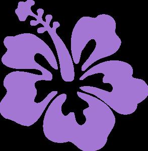 clip free library Flowers clip art . Tropical clipart purple hawaiian flower