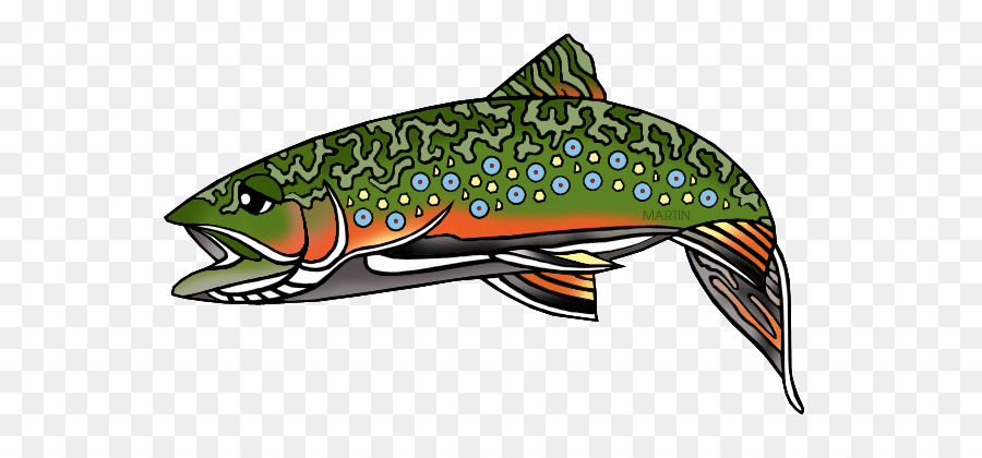 picture library download Illustration fish . Trout clipart rainbow trout