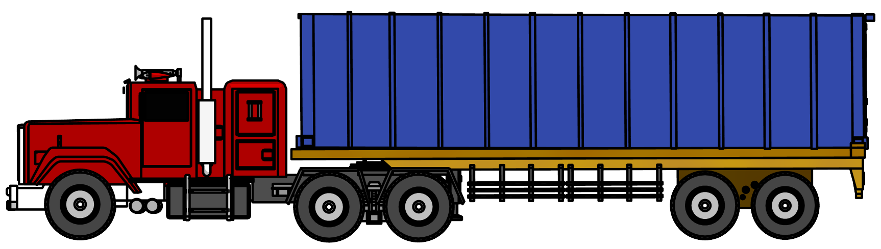 clip art freeuse stock Truck clipart. Industrial big png image