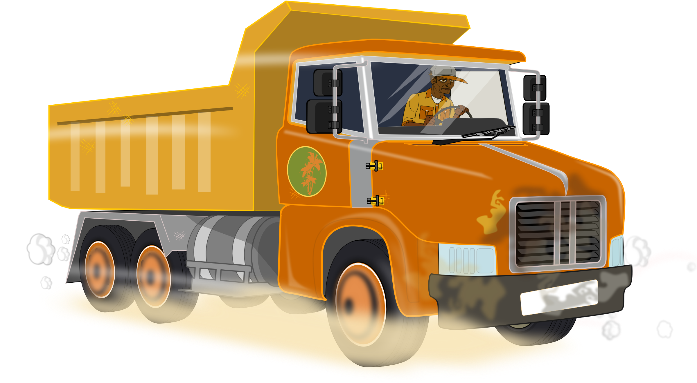picture library stock Dump big image png. Construction truck clipart.