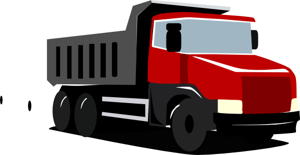 picture royalty free download Red Truck Clip Art at Clker
