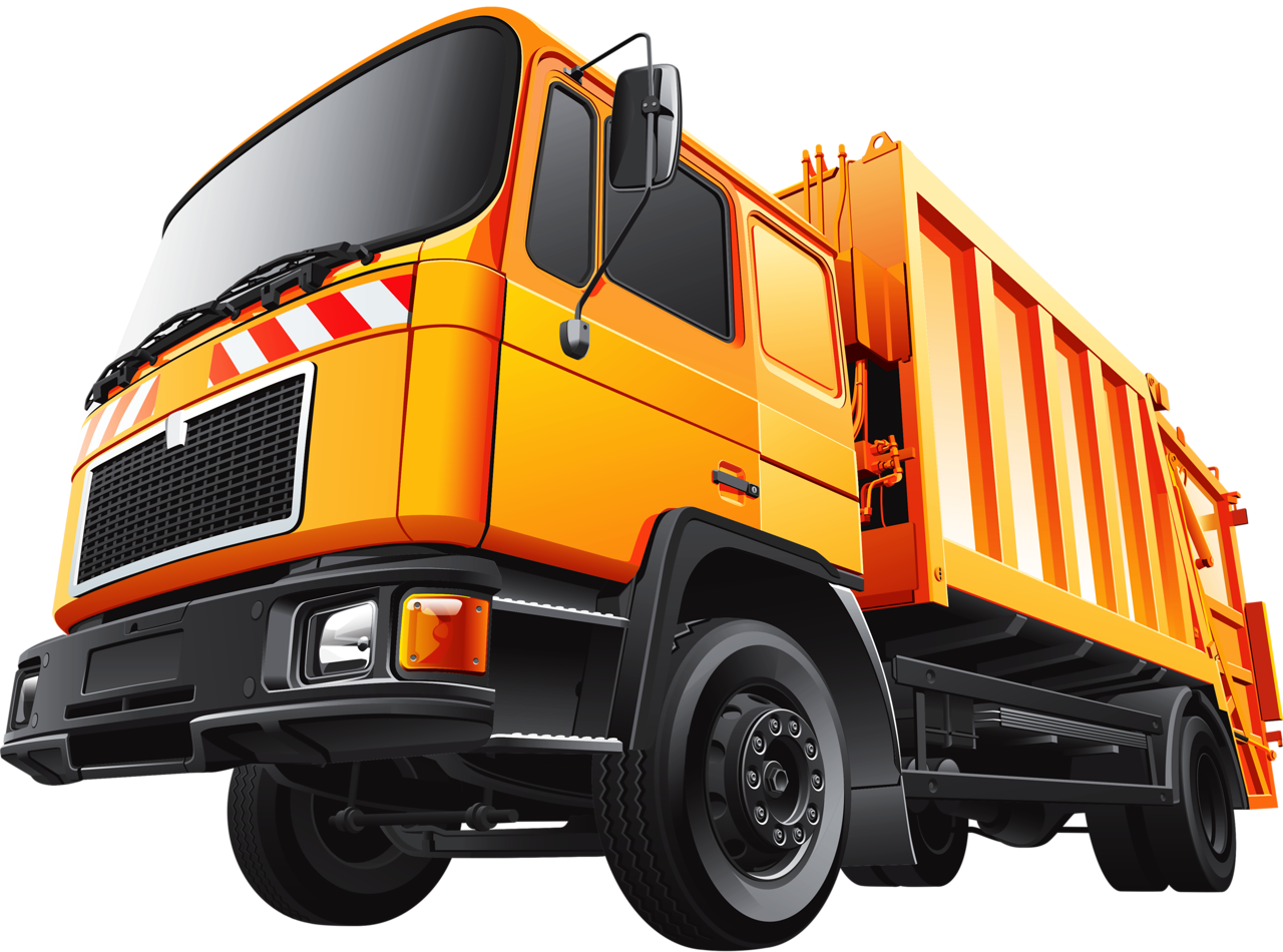 svg freeuse download Truck clipart rubbish.  png transportation and