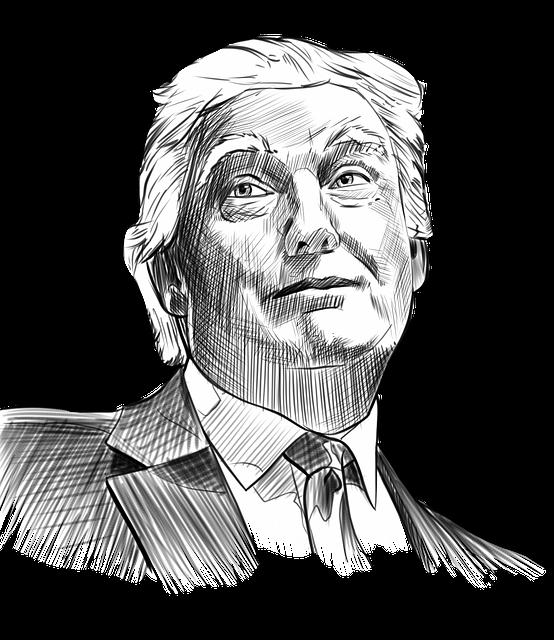 graphic transparent stock Trump Drawing at GetDrawings