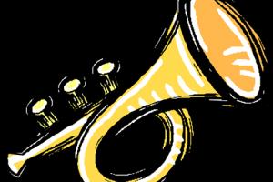 banner Trumpet clipart. Jokingart com