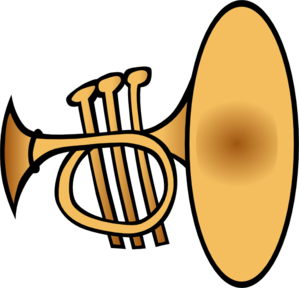 free Silly clip art at. Trumpet clipart brass instrument