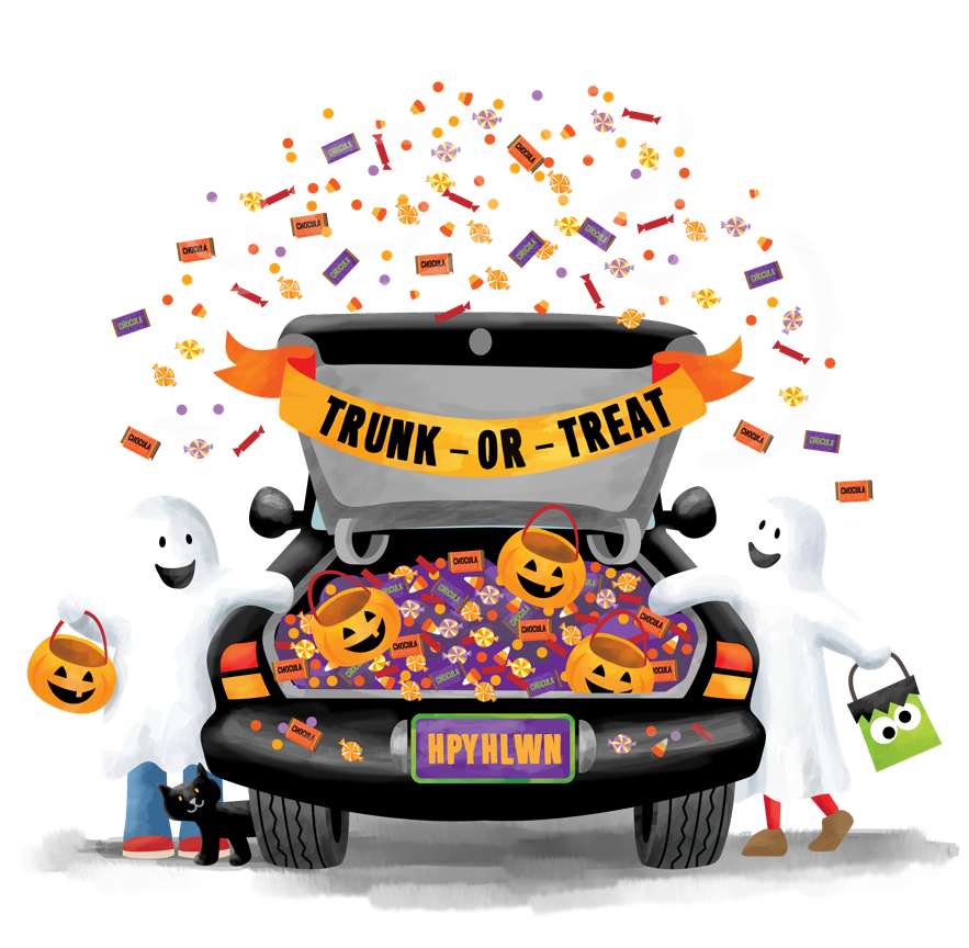 vector free Trunk or treat clipart. St john s episcopal