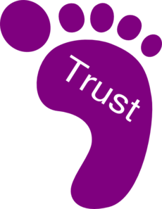 graphic freeuse Right Foot Trust Clip Art at Clker