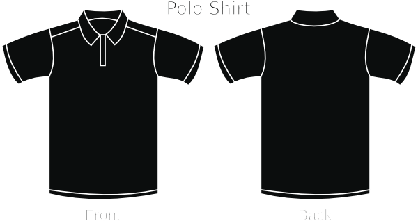 graphic library download Black Polo Shirt Clip Art