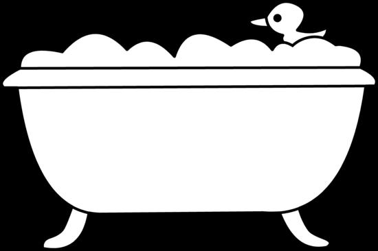 clip library download Tub clipart. Bath clip art by