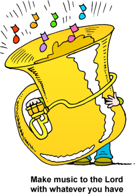 graphic tuba clipart clip art #52258971