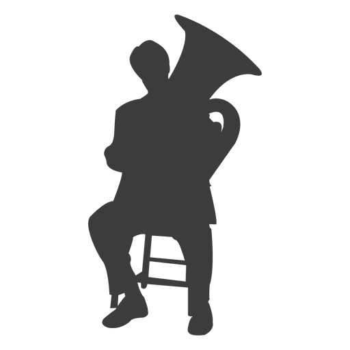 svg free stock Tuba Silhouette at GetDrawings