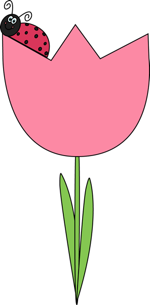 image transparent library Tulip clip art for. Tulips clipart pink tulips