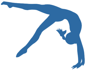 banner royalty free  collection of gymnastics. Tumbling clipart