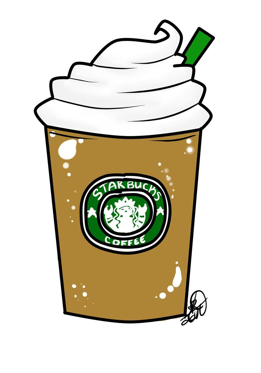 svg black and white stock Starbucks drawing free rainbow. Tumblr clipart