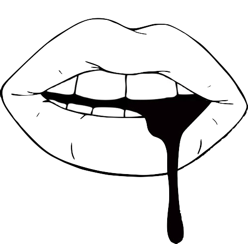 black and white Tumblr clipart black and white. Transparent posts google search