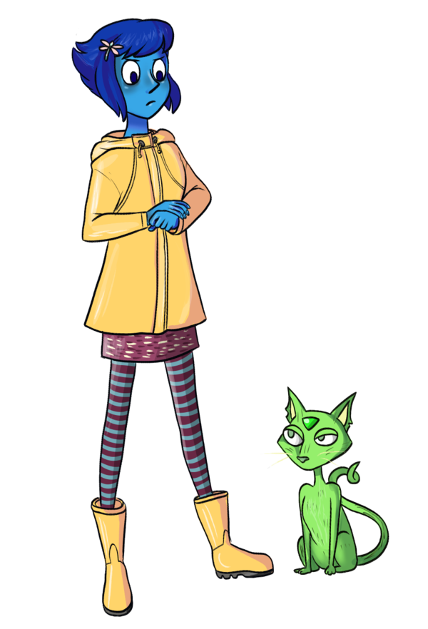 clip art free download Coraline Lapis by at