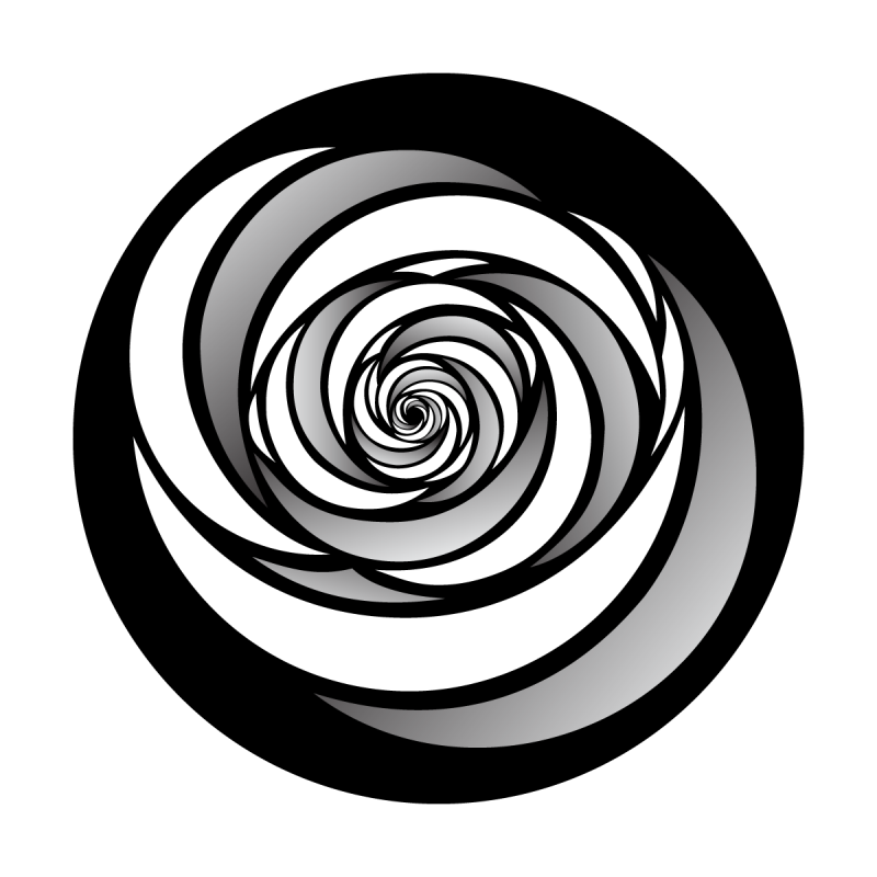 image library stock Swirl Tunnel Variation