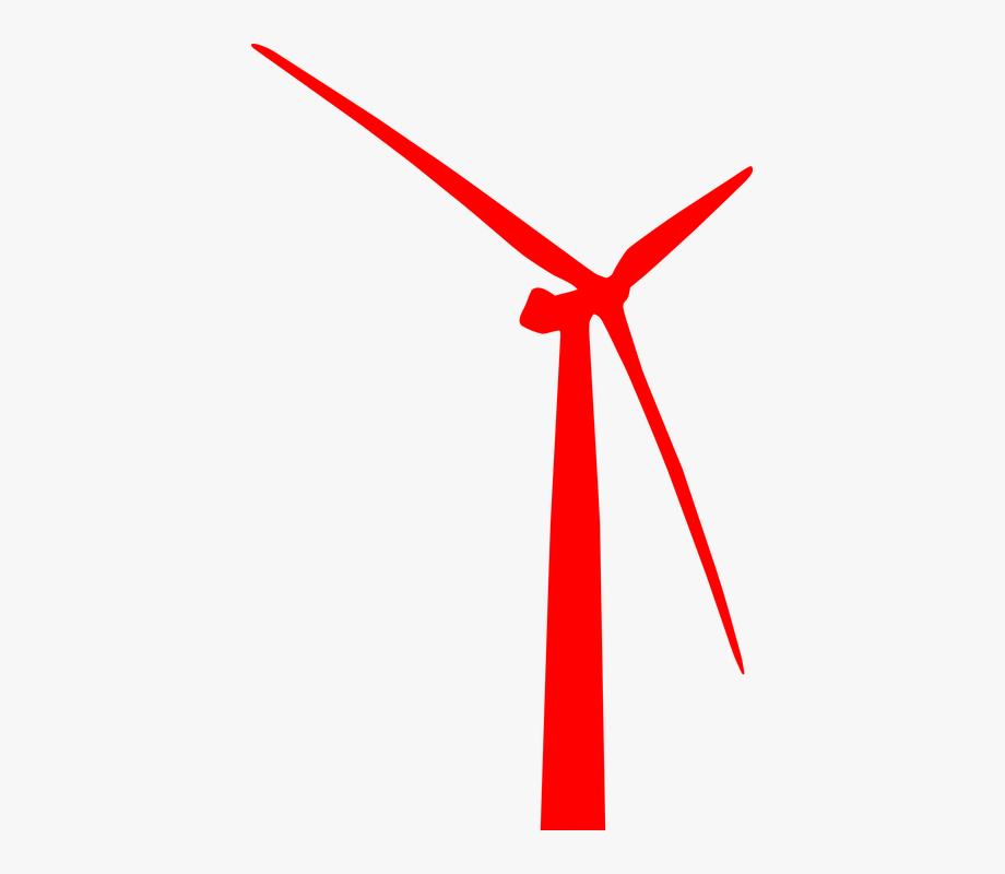 royalty free Energies wind generator power. Turbine clipart