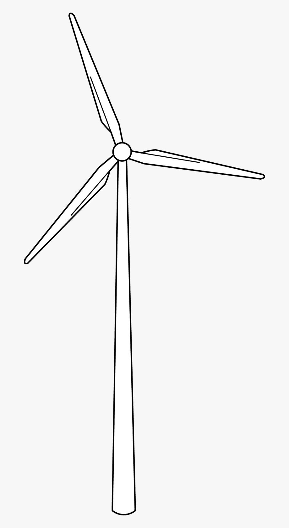 clip black and white Turbine clipart. Wind free cliparts on