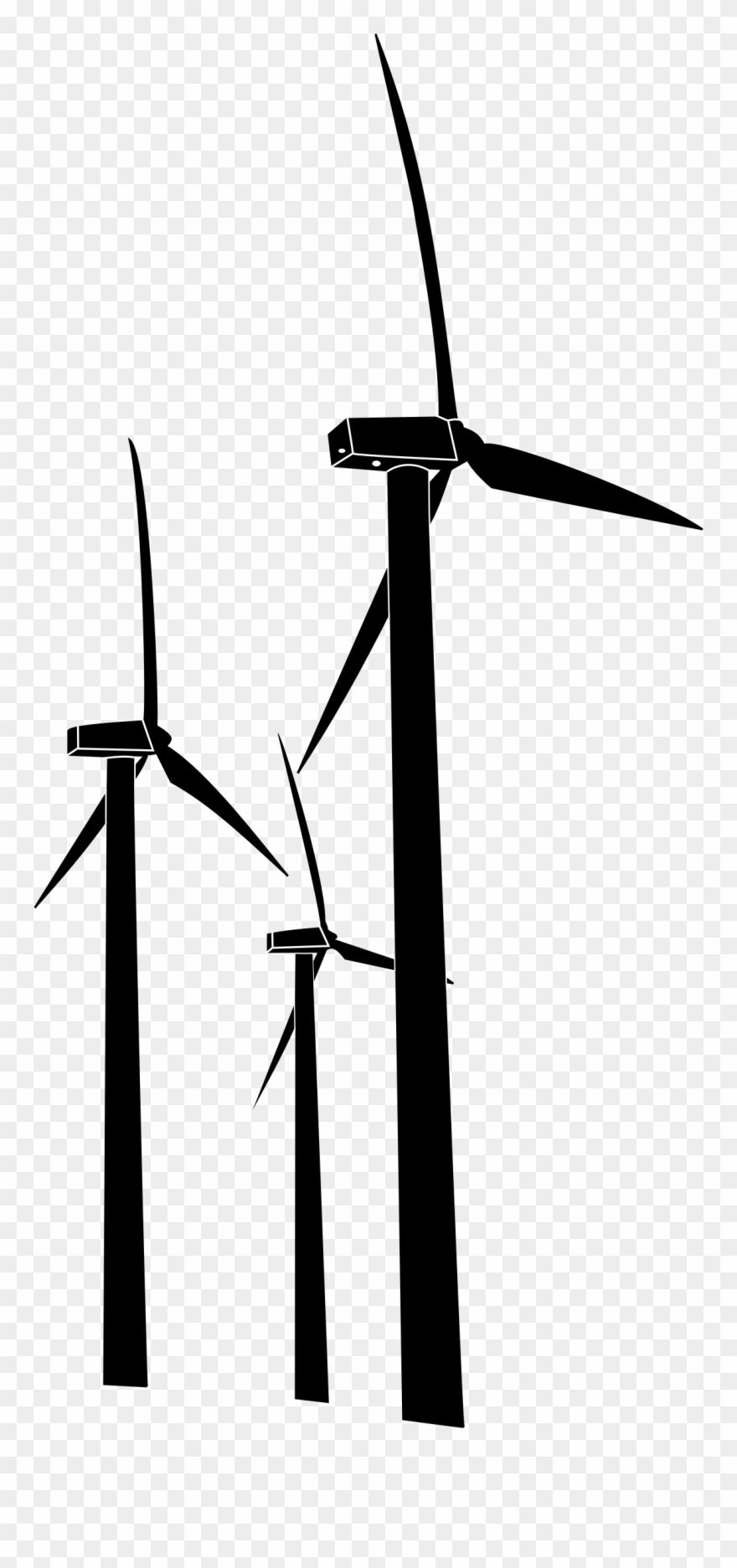 svg royalty free Turbine clipart. Wind turbines clip art