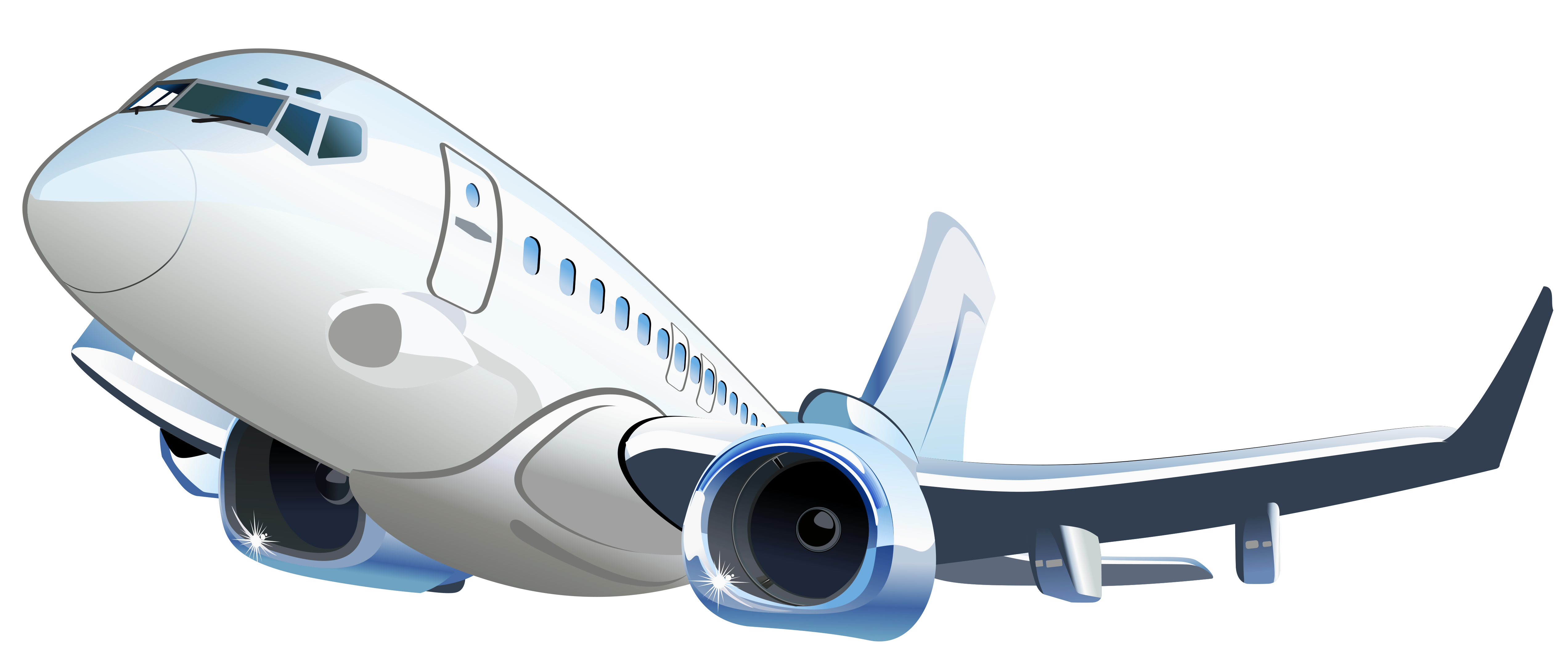 clip art royalty free download Airplane Transparent Vector Clipart