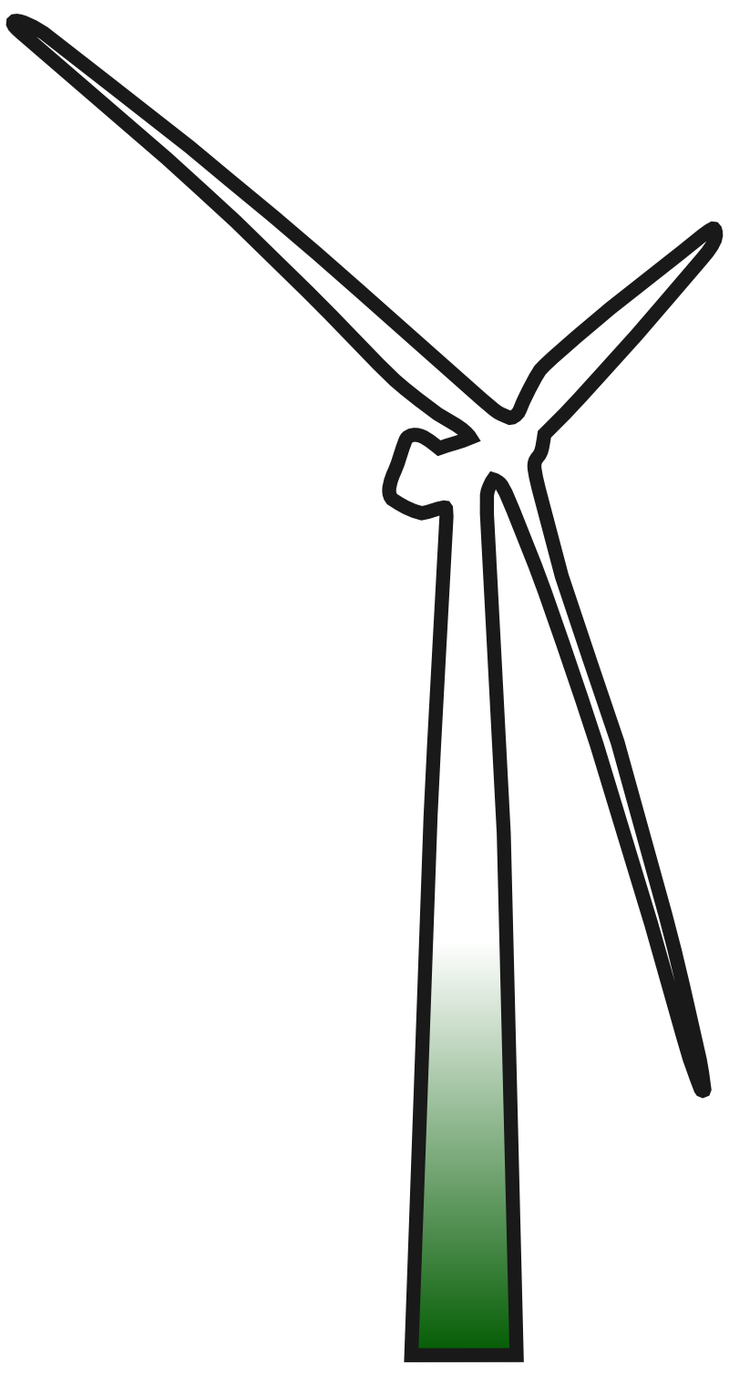 clip transparent Wind Turbine Clipart Png