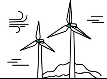 black and white stock Wind Energy Drawing at GetDrawings