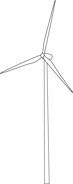 clipart freeuse stock Mygeomatic Wind Turbine Clip Art at Clker