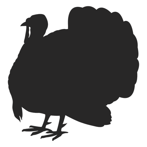 svg black and white download Turkey Silhouette Images at GetDrawings