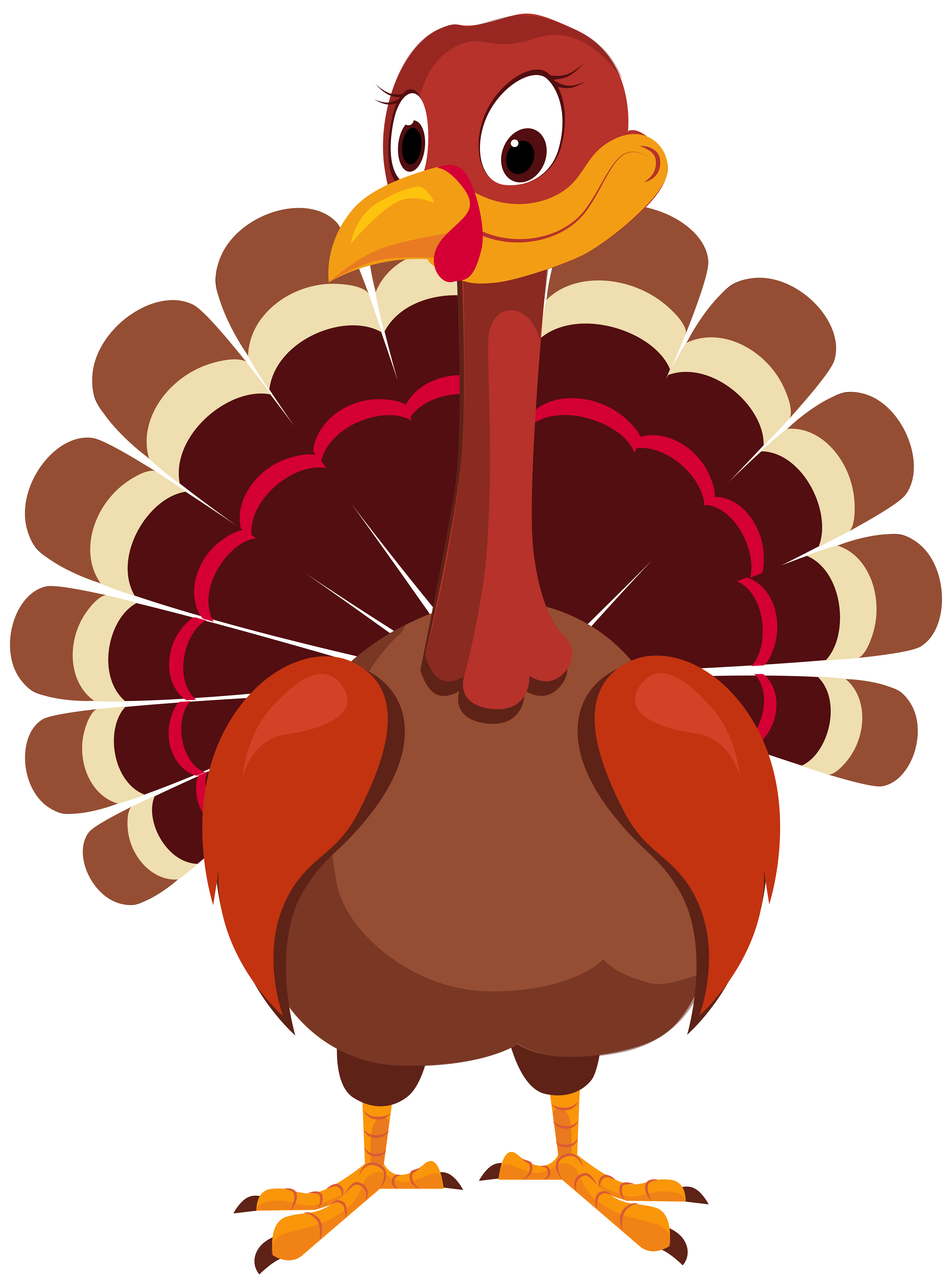 vector free stock Turkey PNG Clip Art Image