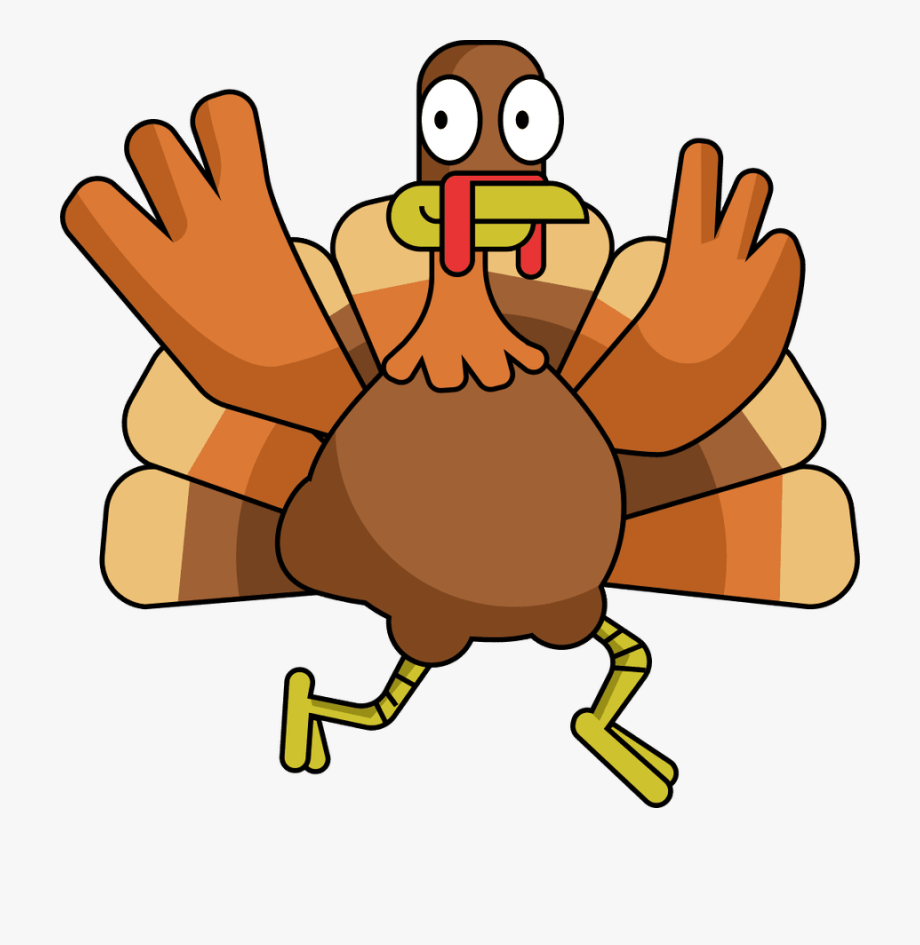 clipart freeuse Happy thanksgiving hand . Turkey clipart