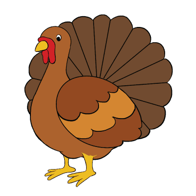 svg freeuse library Turkey Drawing Easy at GetDrawings